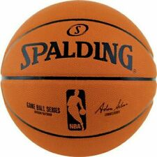 Spalding NBA Game Ball Series Composite Leather Basketball