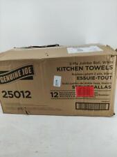 Genuine Joe 250-sheet Roll Kitchen Towels, 12/carton, GJO25012
