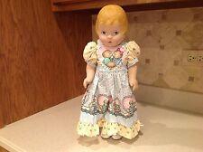 """Daisy Kingdom Doll Molded Hair Blue Eyes 17.25"""" Tall 3075-32105 Very Nice cond."""