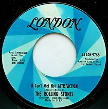 "THE ROLLING STONES ""(I Can't Get No) Satisfaction"" 7"" Single - 1965 45 LON 9766"