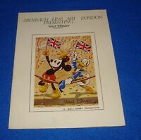 Vintage & Original Aberbach Fine Art London Presents Disney Brochure