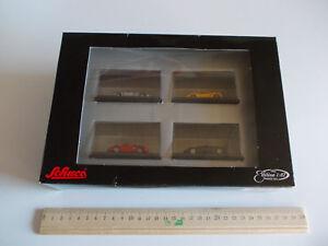 Schuco Ho Edition 1 : 87 Metall mit OVP, Neu, 2 mal Porsche, 2 mal Lamborghini