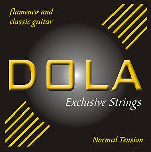 DOLA Exclusive Strings - Gitarrensaiten Klassik/Flamenco - Nylon - Normal/Hard