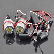 2X 60W CREE LED Angel Eye Halo Light Bulb For BMW E39 5S E59 E53 E60 E63 E64 E65