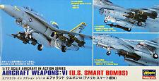 Hasegawa X72-11 AIRCRAFT WEAPONS VI U.S. BOMBS 1/72 scale kit