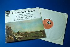 SAX 2571 Haydn Symphonies No.88 & 104 LONDON Klemperer NPO COLUMBIA UK