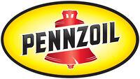 "PENNZOIL vinyl cut sticker decal 18"" (full color)"