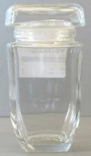 Glasdose aus Kristallglas - quadratisch Höhe ca. 14,3cm - AE709