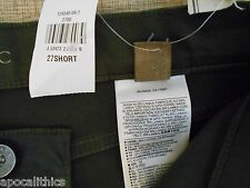 NWT Banana Republic Women's Skinny Fit Faux Leather Pant Black Size 27 Short
