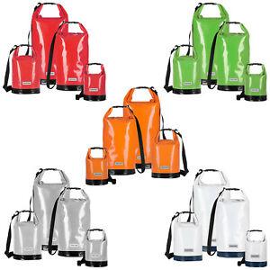 anndora Tarpaulin Packsack 5 - 30 Liter Seesack wasserdicht Rollbeutel Dry Bag