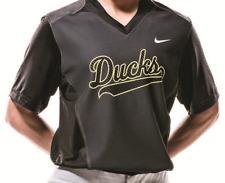 NIKE NWT Women's College Turn Two S/S Oregon Ducks M Jersey Softball NCAA 578466