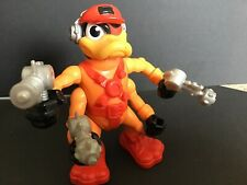 BUCKY O'HARE VINTAGE ACTION FIGURE: DEADEYE DUCK With Weapons