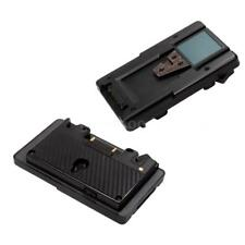 Anton Bauer Gold Mount V Mount Adapter Battery Pack Plate Panasonic to SONY US