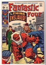 Marvel Comics  VFN 8.0   FANTASTIC FOUR  #91 1970 Thing enslaved