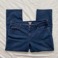 J. Jill Womens Crop Stretch Jeans Blue Size 10