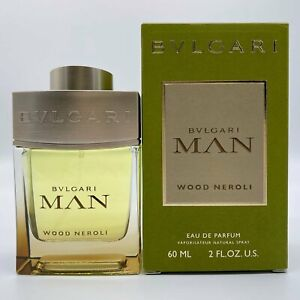 BVLGARI MAN WOOD NEROLI Perfume EDP Eau De Parfum 60ml - 100% AUTHENTIC