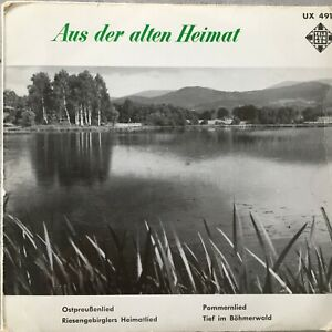 AUS DER ALTEN HEIMAT - Heinz Werner (EP TEL UX 4611 / Mono )