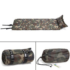 Outdoor Self Inflating Mattress Pad Pillow Camping Hiking Picnic Sleeping mat