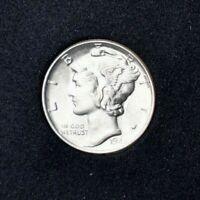 1944 Mercury Dime~90% Silver~B/U~Brilliant Uncirculated~Combined Shipping!