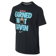 *RARE* NIKE LEBRON EARNED NOT GIVEN CHAMPIONSHIP SHIRT SOUTH BEACH MIAMI HEAT L