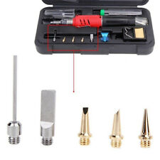 5pcs HS-1115K 10in1 Pro Butane Gas Soldering Iron Kit Welding Kit Torch Pen Tool