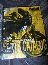 2J - Parts Catalog Buell Official Manual 2000 Thunderbolt S3 S3T