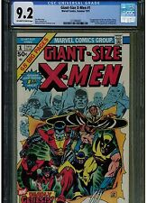 GIANT SIZE X MEN #1 CGC 9.2 NEAR MINT - 1975 2ND FULL APPEARANCE WOLVERINE OWTW