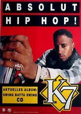 K7 - HIP HOP- 1993 - Promoplakat - Swing Batta Swing