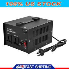 New 500W Watt Voltage Converter Transformer Step Up Down AC 110V to 220V US SHIP