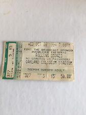 Rolling Stones tickets stub October 1994 Oakland Coliseum