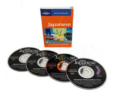 Learn to Speak Japanese Language (4 Audio CDs w/Phrasebook) listen in your car!