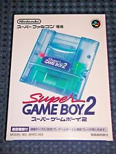 RARE! Super GAMEBOY Player 2 for Nintendo SFC Famicom GB GAMEBOY SNES JAPAN F/S