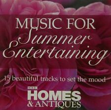 MUSIC FOR SUMMER ENTERTAINING: BBC CD - HANDEL BACH MOZART STRAUSS ALBINONI ETC