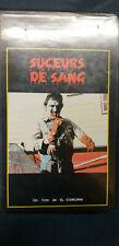Cassette vidéo VHS SUCEURS DE SANG Glen Coburn - Film d'horreur