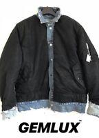 AMIRI Reversible Shell and Distressed Denim Jacket Size XL