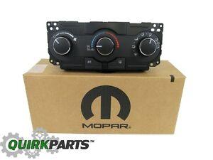 2006-2010 Dodge Charger Magnum & Chrysler 300 A/C Heater Control Unit MOPAR OEM