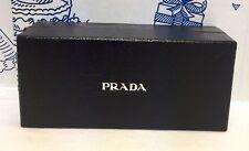 Prada Empty Sunglasses Eyeglass Box Black Jewelry Gift Presentation White Case