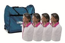 New 4 Pk Cpraed Laerdal Little Anne Manikin Soft Pack Training Mat Dark Skin