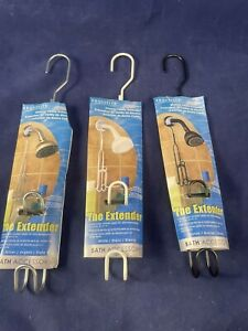 """Lot of 1 choose color Exquisite shower caddy extender 8 1/2""""-11"""""""
