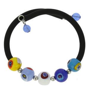 GlassOfVenice Murano Glass Moderno Mosaic Bracelet