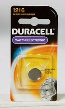 DURACELL 1216 Button Coin Battery Lithium 3 volt DL1216 CR1216 Watch Electronics