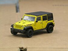 dcp/greenlight yellow/black lowered 2019 Jeep Wrangler 4 door 1/64