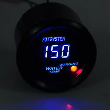 "NEW Universal 2""52mm Blue Digital LED Water Temp Temperature Gauge US Stock"