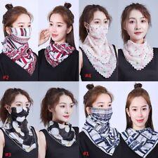 Bandana Scarves Face Mask Cover Head Wrap Scarf 100% Cotton Paisley