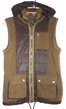 EDDIE BAUER MENS ( NEW ) STOW AWAY HOODED SWEATER VEST SIZE-SMALL