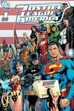 JUSTICE LEAGUE ~ FLAG JLA 24x36 COMIC ART POSTER DC 1 America Ed Benes