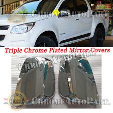 For 2015 2016 2017 2018 Chevrolet Colorado Chrome Top Half  Mirror Covers