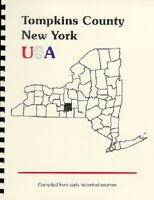 NY~TOMPKINS COUNTY~ITHACA NEW YORK~RP OF 1885 GAZETTE OUTLINE HISTORY~GENEALOGY