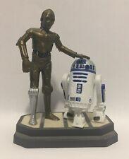 Star Wars R2-D2 / C-3 Po Applause Jumbo Pvc Figures Lucasfilm 1997
