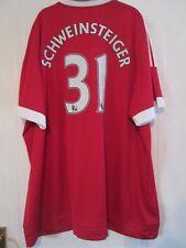Manchester United Schweinstiger 2015-2016 Home Football Shirt 4xl BNWT /43908